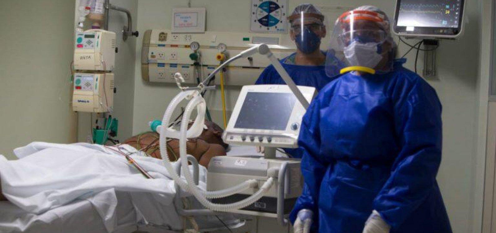 [A cada hora, quatro profissionais de saúde são infectados por Covid-19 na Bahia]
