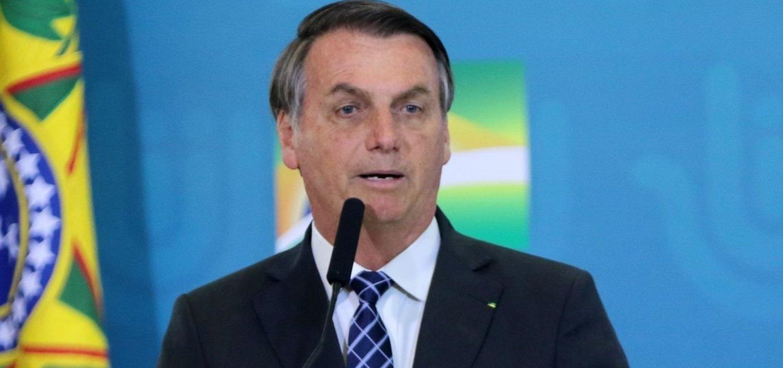 [Bolsonaro volta a dizer que auxilio emergencial deve ser pago até o final do ano, mas valor deve diminuir]