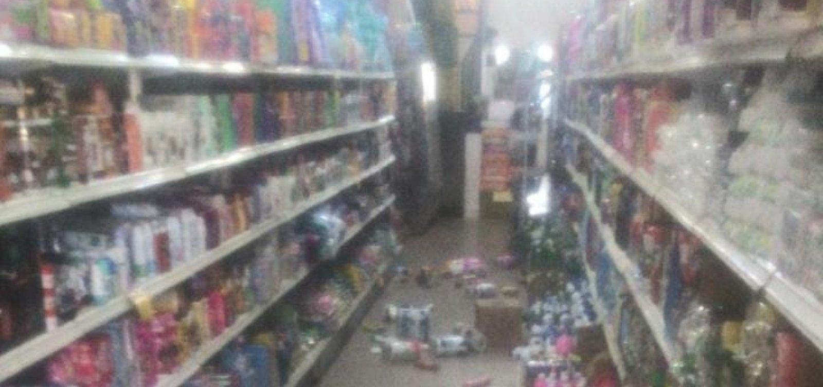 [Cidades baianas são atingidas por tremor de terra neste domingo]