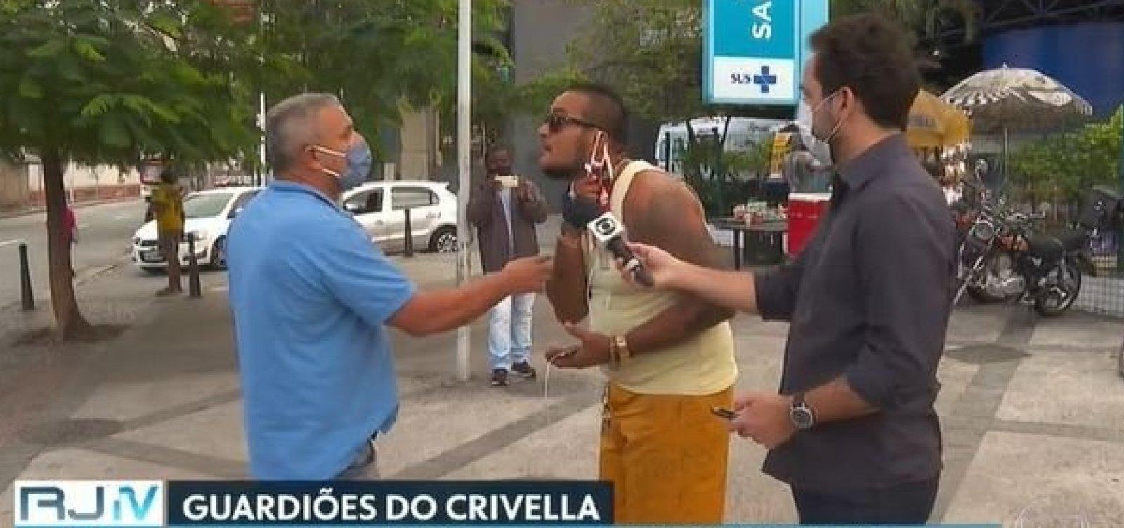 [Prefeito do Rio acumula 'guardiões' para impedir trabalho da imprensa durante plantões]