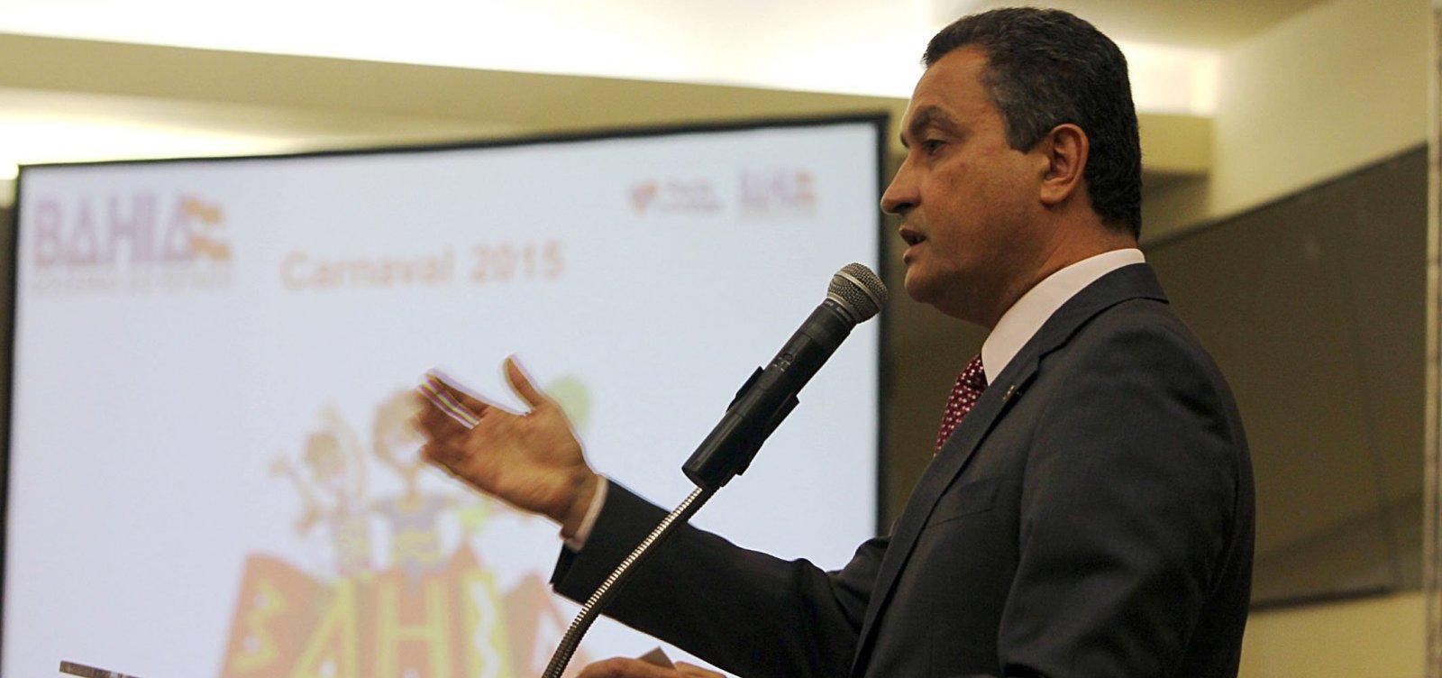 [Rui Costa acusa Governo Bolsonaro de desrespeitar lei ao usar Força Nacional no sul da Bahia]