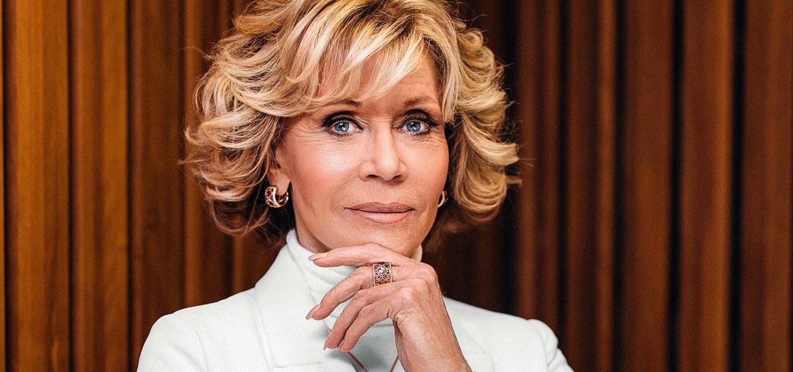 [Jane Fonda diz se arrepender de não ter transado com Marvin Gaye: 'Ele queria...']
