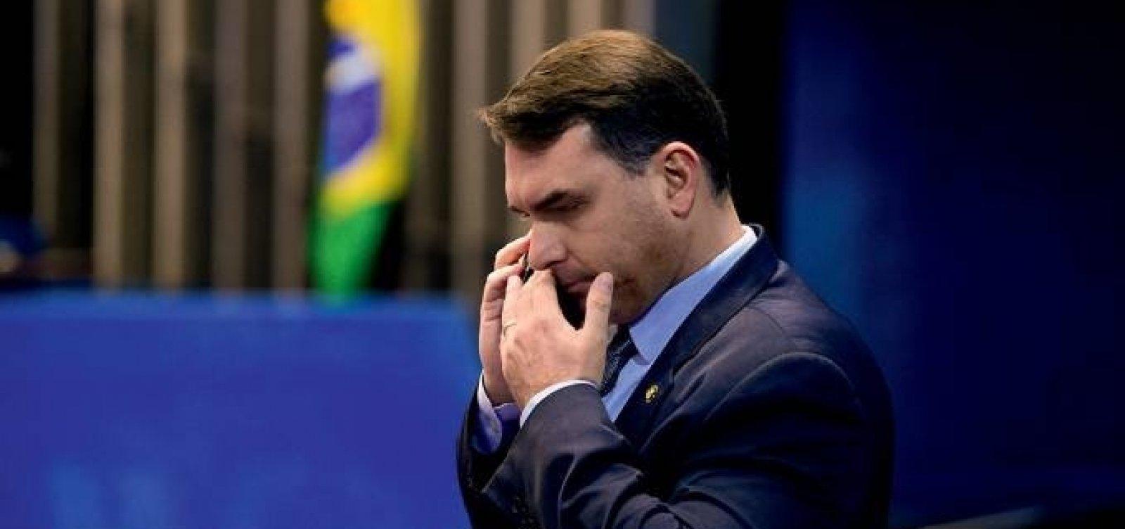 [Justiça proíbe Globo de exibir documentos do caso Flávio Bolsonaro, diz coluna]