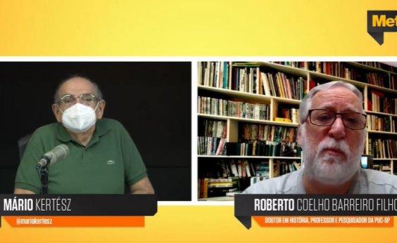 [Roberto Coelho dá aula sobre Independência do Brasil; veja vídeo]