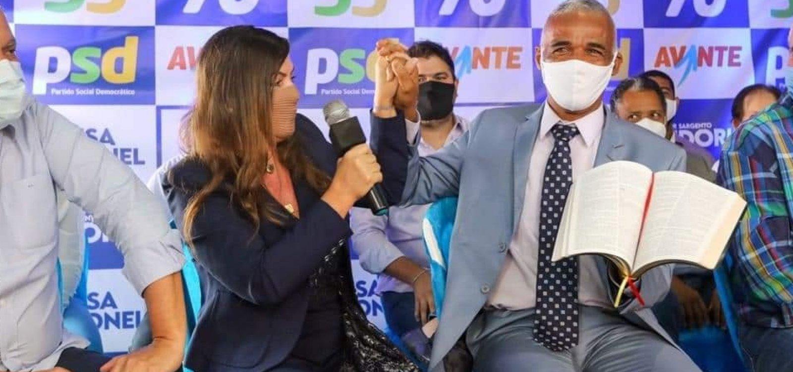 [Sargento Isidório é o primeiro candidato oficializado à Prefeitura de Salvador]