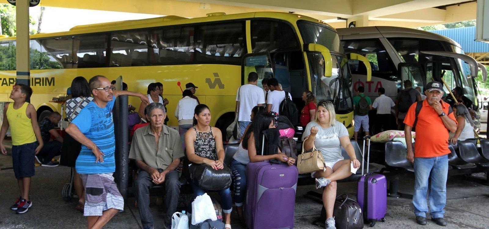 [Mais 3 cidades baianas adotam suspensão do transporte intermunicipal]