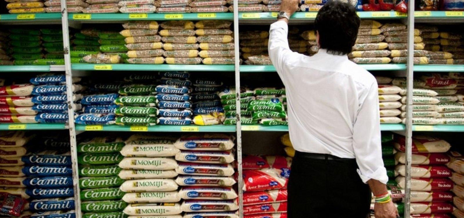 [Câmara de Comércio Exterior reduz a zero alíquota de importação de arroz]