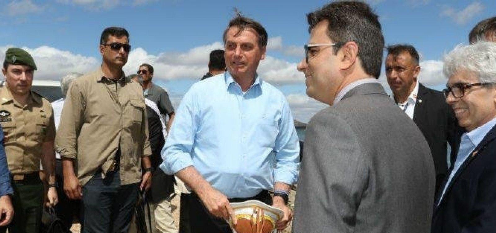 [Bolsonaro deve desembarcar amanhã na Bahia para assinar acordo com Exército na Fiol]