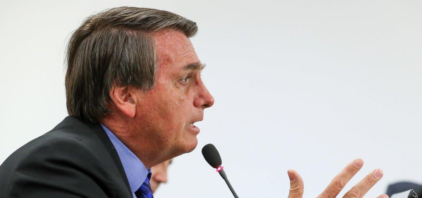 [Bolsonaro diz que autorizou notificação a supermercados por preço dos alimentos]