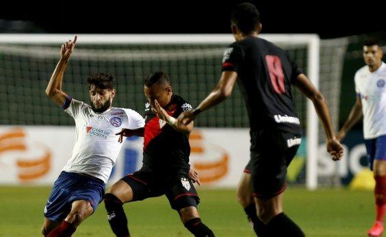[Com gol de goleiro, Bahia perde para o Atlético-GO na estreia de Mano Menezes]