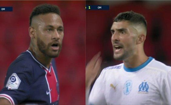 [PSG emite nota de apoio a Neymar após jogador acusar zagueiro do Olympique de racismo]