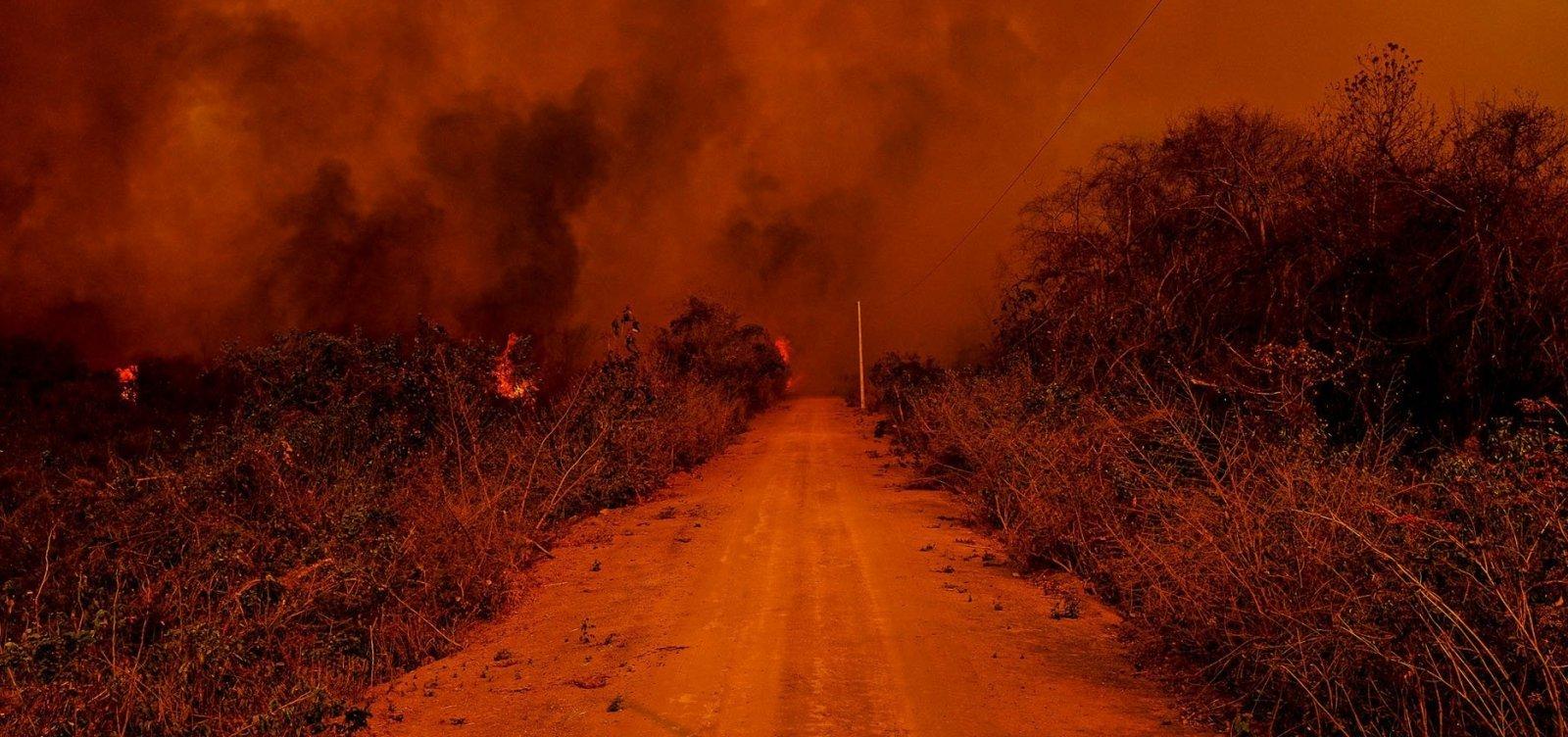 [Governo federal reconhece situação de emergência em MS devido aos incêndios no Pantanal]