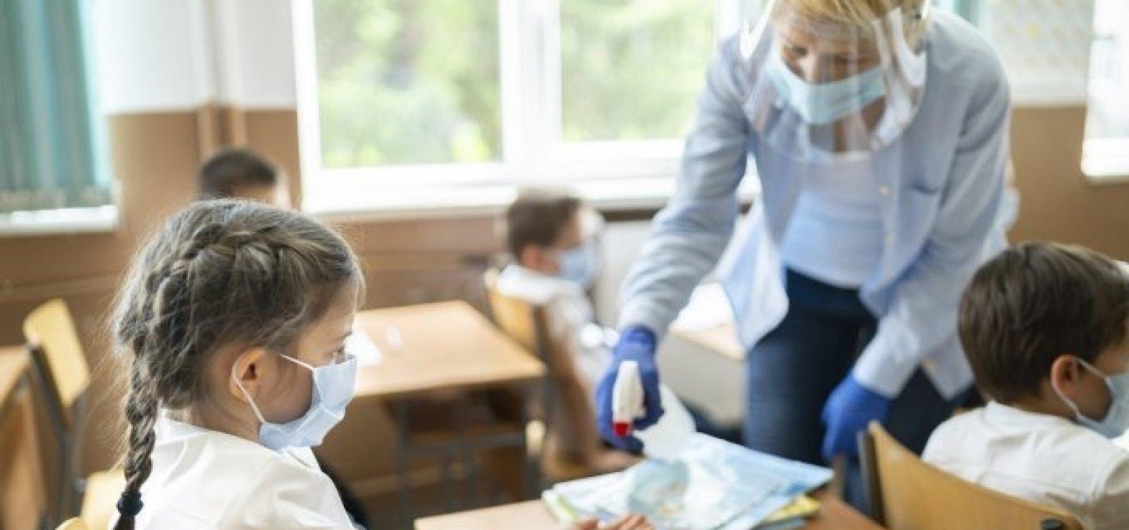[OMS e Unicef dizem que reabertura de escolas não está associada a proliferação da Covid-19]