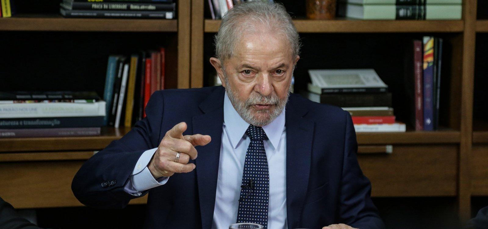 """[Lula diz ser contra isenção de impostos para igrejas: """"Conta não pode ficar nas costas do povo""""]"""