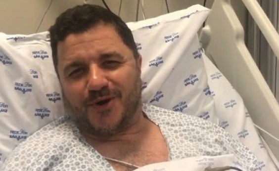 [Recuperado de infarto, Mauricio Manieri agradece apoio de fãs e médicos]