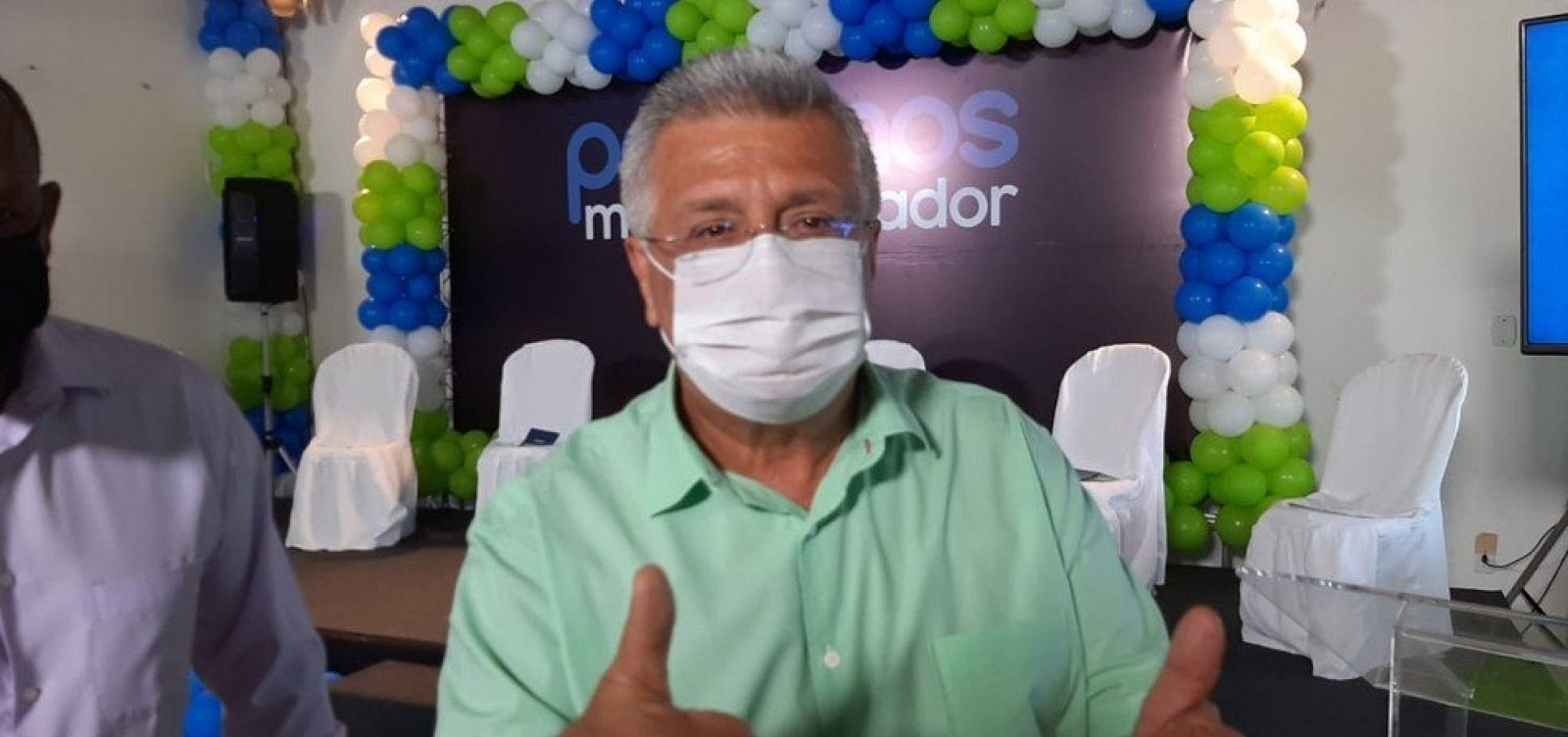 [Podemos oficializa candidatura de Bacelar a prefeito de Salvador]