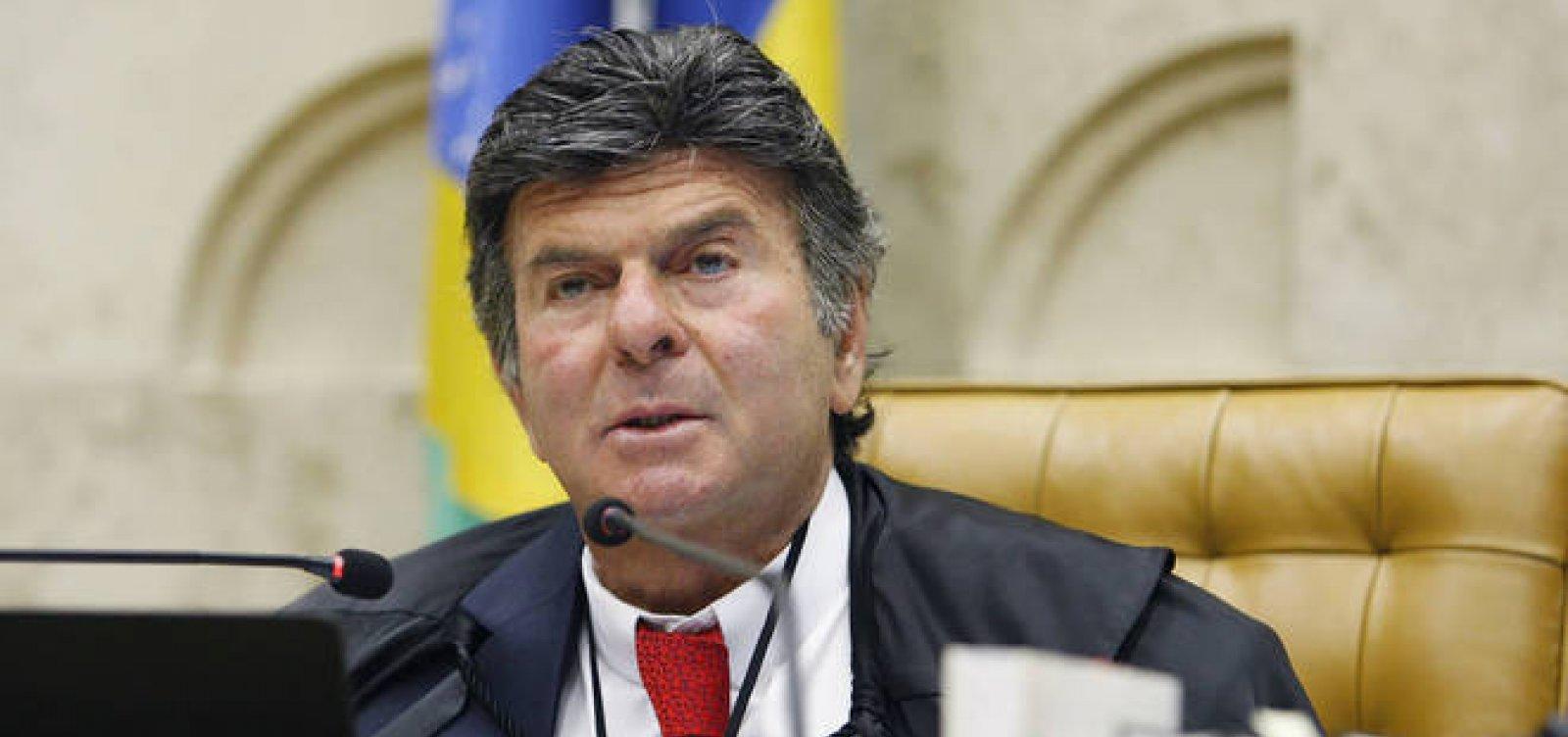 [Sem três ministros, primeira sessão presidida por Luiz Fux no Supremo é suspensa]