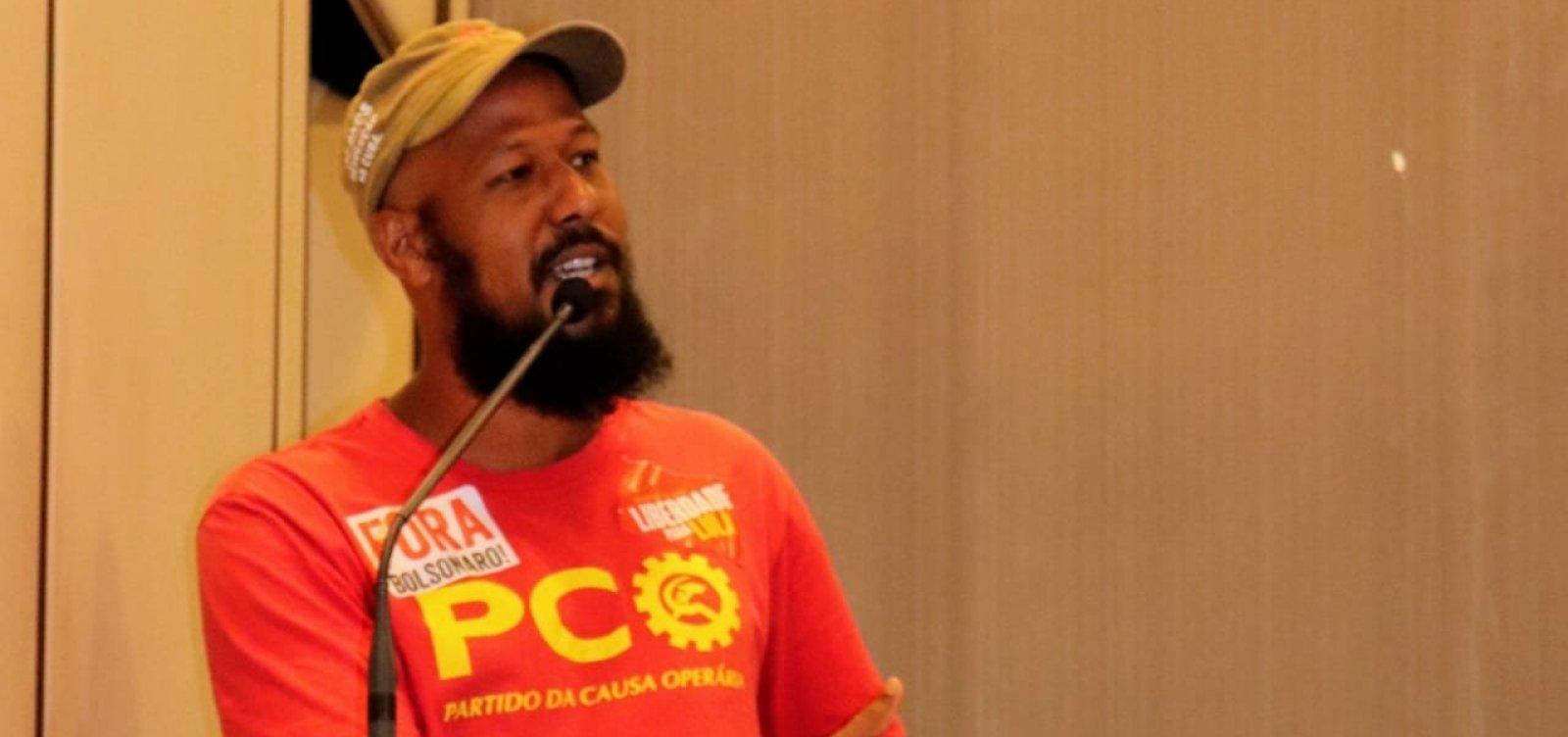 [PCO oficializa candidatura de Rodrigo Pereira à Prefeitura de Salvador]