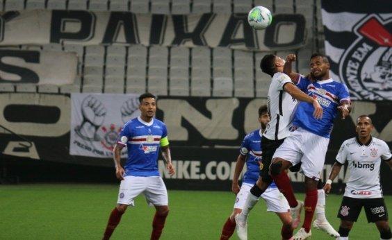 [Série A: Bahia perde para o Corinthians e soma oito jogos sem vencer]