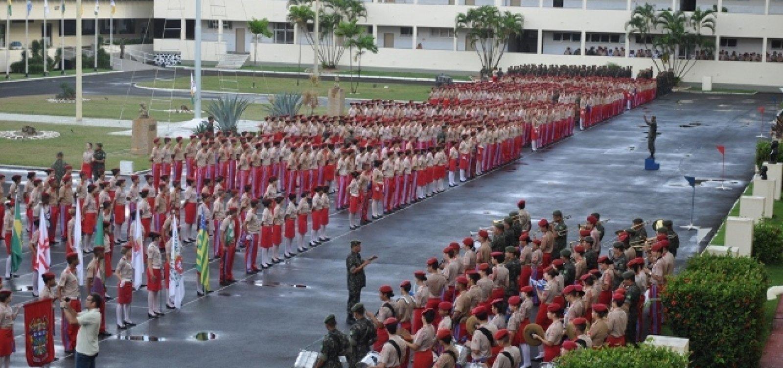 [Colégios Militares recebem orientação para retornar às aulas no dia 21]