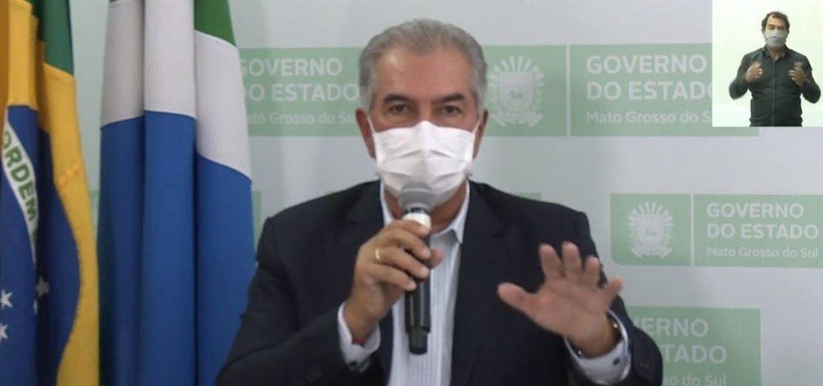 [Governador do Mato Grosso do Sul é diagnosticado com Covid-19]