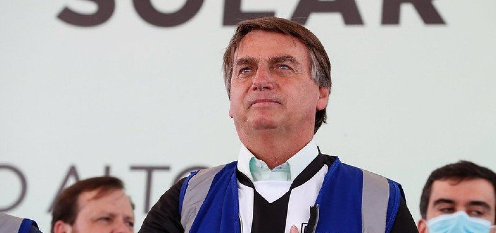 [Brasil 'está de parabéns' pela forma como preserva o meio ambiente, diz Bolsonaro]