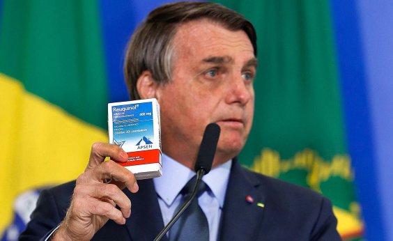 [Coronavírus: Bolsonaro diz que 'conversinha mole de ficar em casa é para os fracos' ]