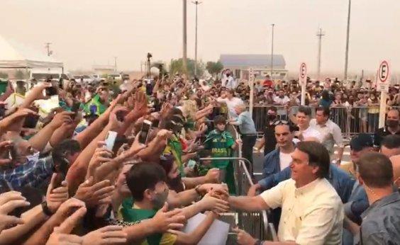 [Equipe de segurança de Bolsonaro em MT impede trabalho da Globo]