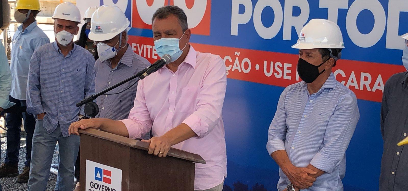 [Rui afirma que 'no máximo' 20 cidades baianas tiveram comportamento 'indevido' na pandemia]