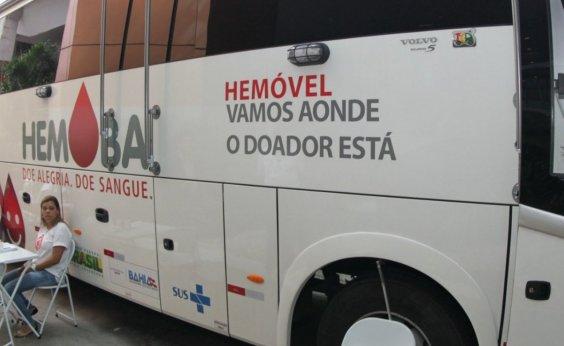 [Hemóvel realiza coleta de sangue em Salvador e Feira de Santana nesta semana]