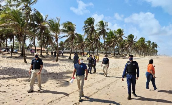[Reabertura de praias em Salvador terá fiscalização da Guarda Municipal]