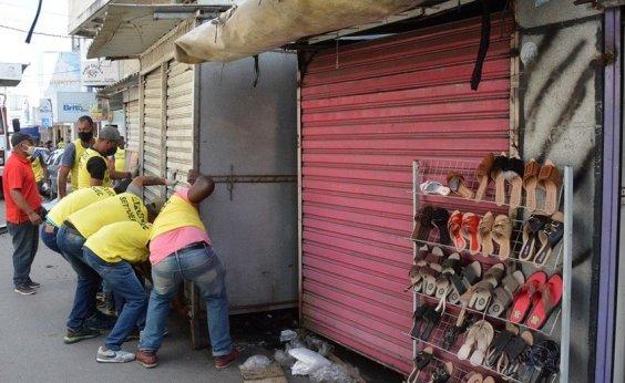 [Após decisão judicial, prefeitura de Feira suspende retirada de barracas]