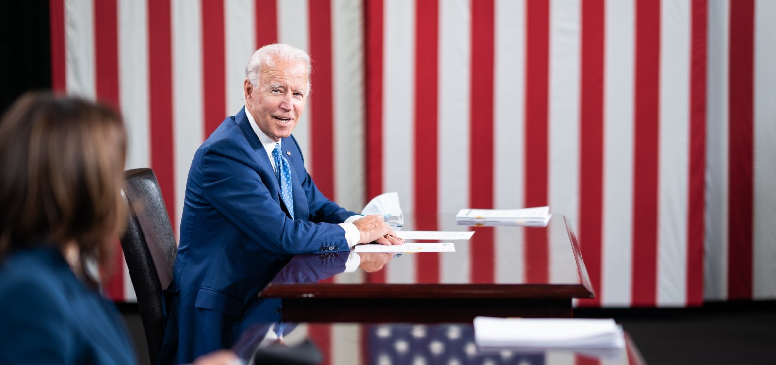 [Eleições nos EUA: Biden mantém vantagem sobre Trump, diz pesquisa]