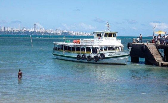 [Travessia Salvador-Mar Grande é interrompida por 2h em razão de maré baixa]