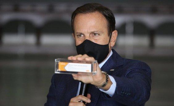 [Vacinação contra a Covid-19 será anual e estará disponível em dezembro, diz Doria]