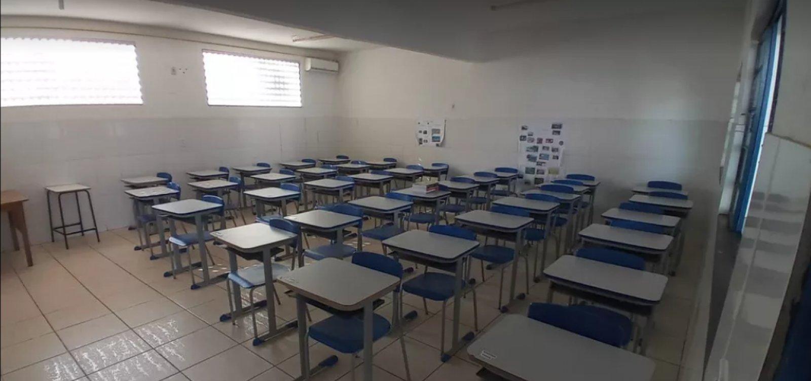 [Retomada de aulas presenciais em Brumado tem baixa adesão de alunos]