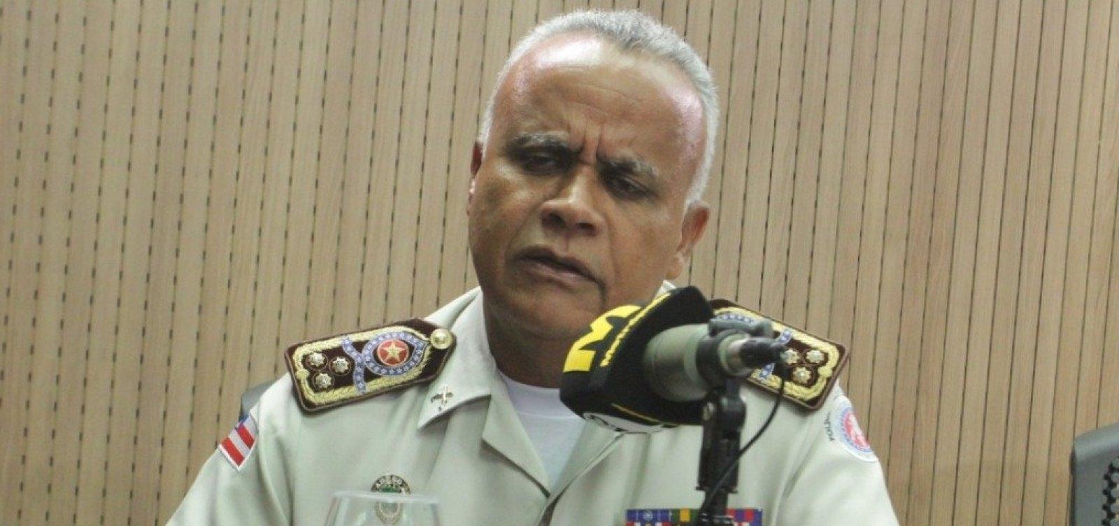 ['Todo mês boto policial para fora por desvio de conduta', diz comandante-geral da PM-BA]