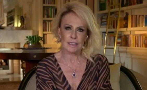 [Ana Maria Braga revela ter quebrado o braço ao fugir de assédio sexual de diretor de TV]