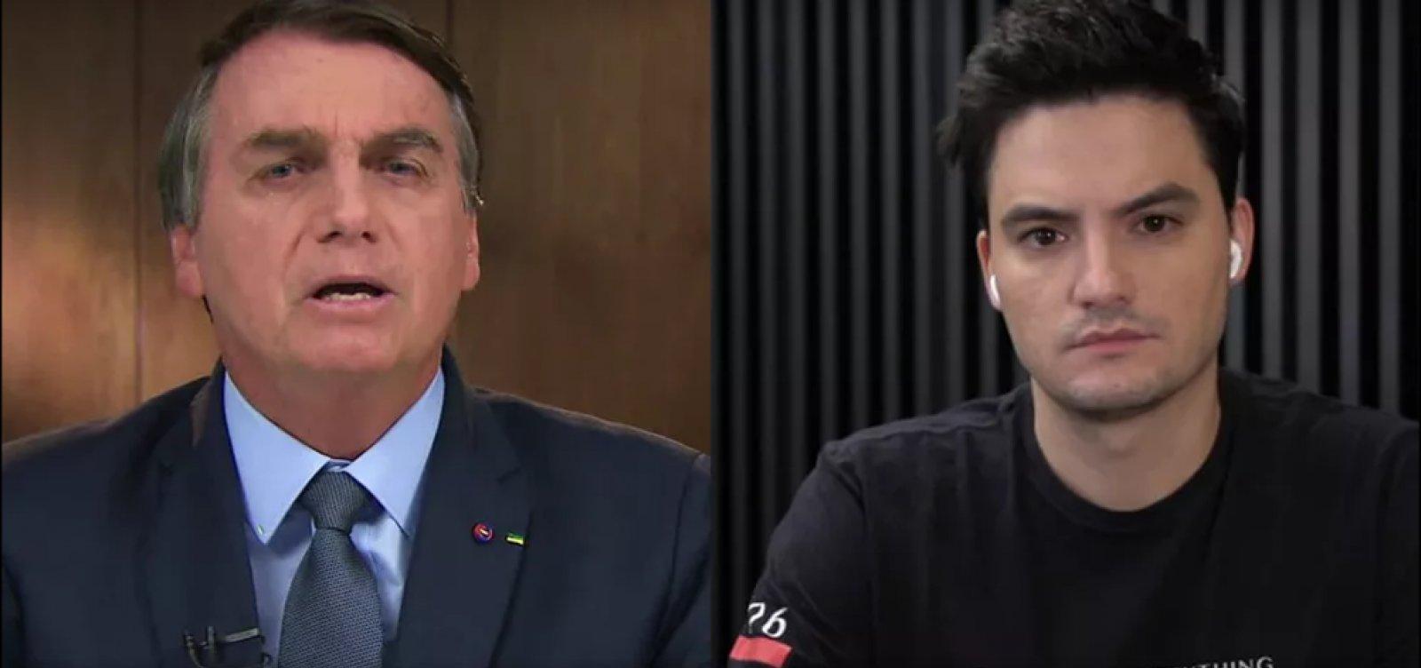 [Revista Time inclui Felipe Neto e Bolsonaro na lista de 100 mais influentes do mundo]