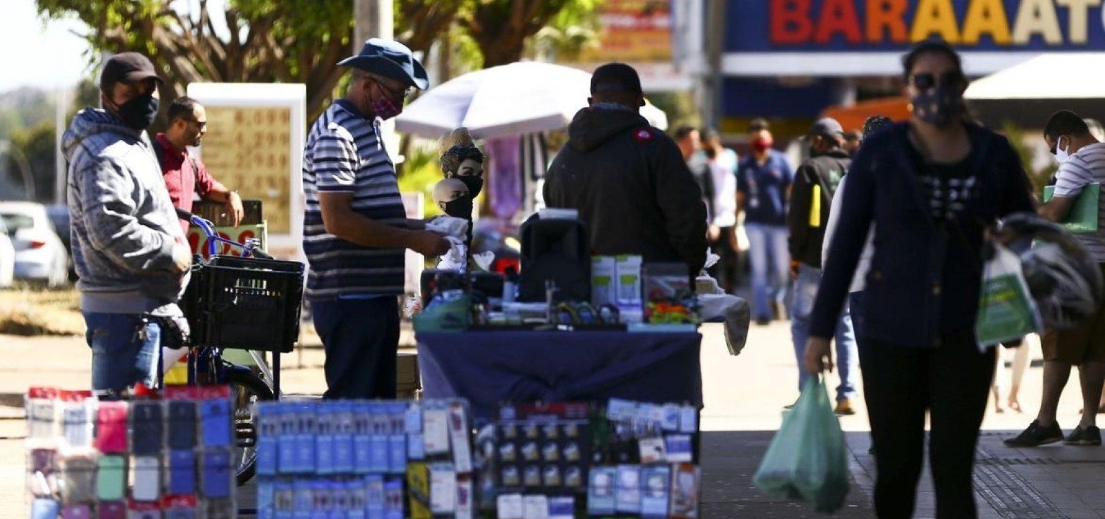 [Bahia é estado brasileiro com maior alta absoluta no número de desocupados]