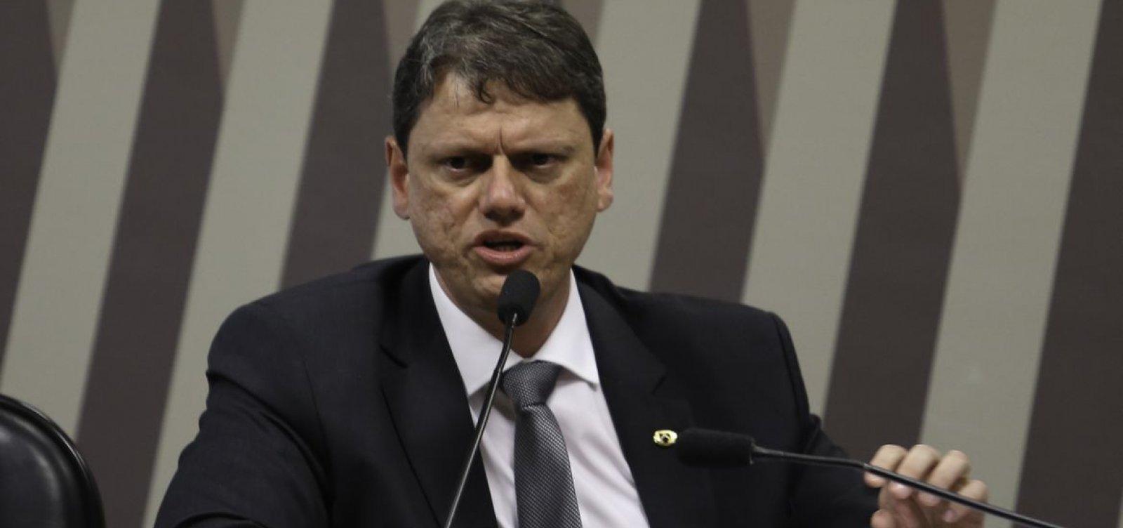[Contratos assinados por Tarcísio no Dnit durante gestão Dilma entram na mira da PF]