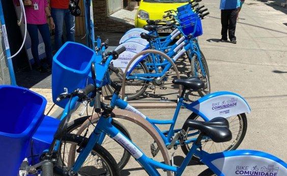 [Antigo Alagados inaugura projeto piloto 'Bike Comunidade']