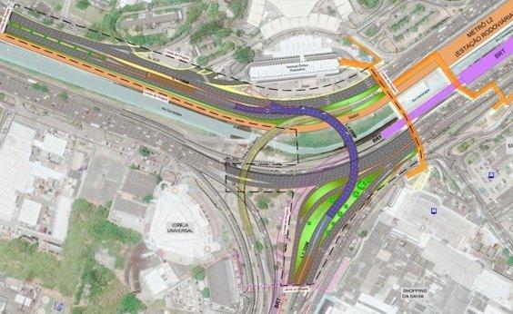 [Prefeitura autoriza construção de viaduto na região do Shopping da Bahia]