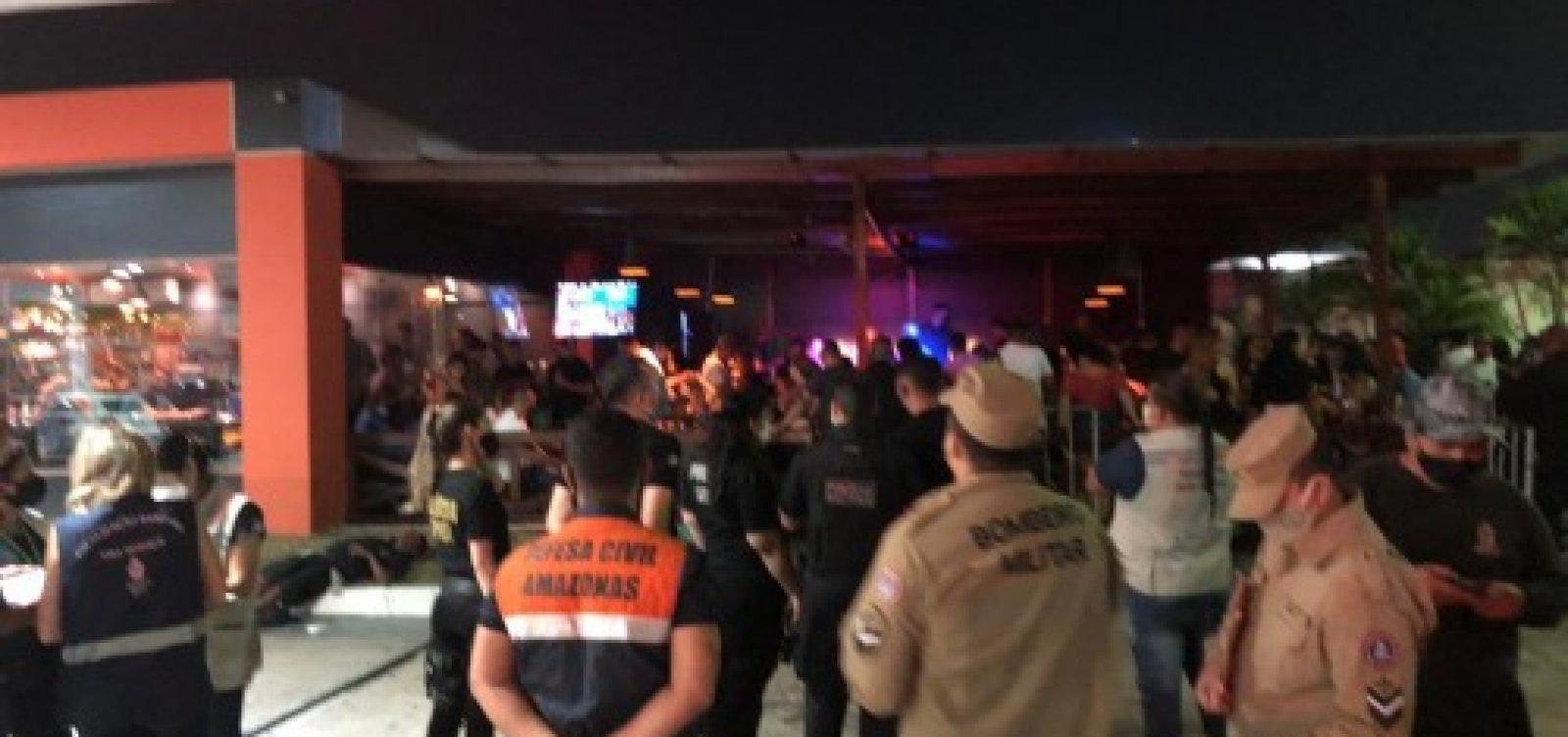 [Governo do Amazonas volta a fechar bares e balneários em Manaus]