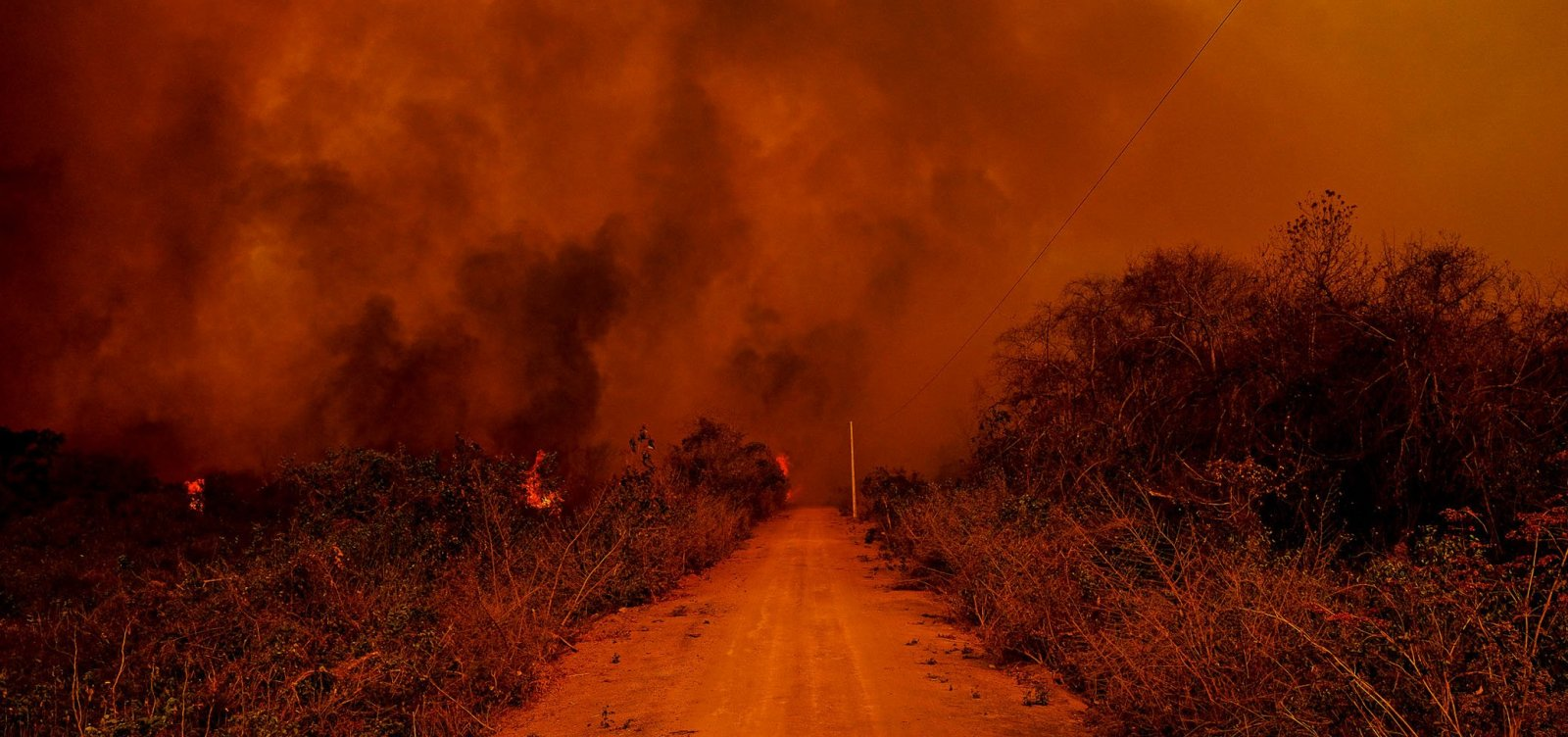 [PF tem provas suficientes para indiciar fazendeiros por queimadas no Pantanal]