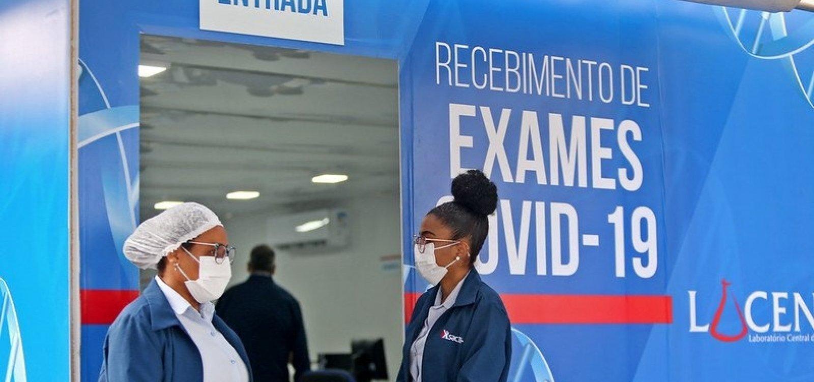 [Bahia registra 1.810 novos casos de Covid-19 e 48 óbitos pela doença em 24h]