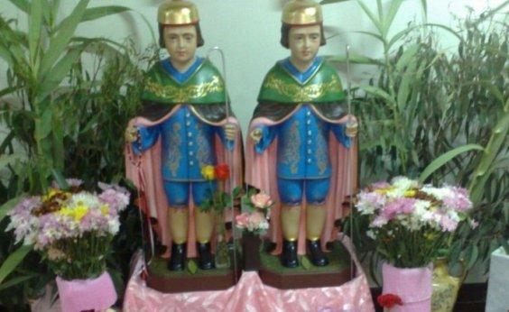 [Dia de Cosme e Damião é celebrado com número reduzido de fiéis e missa on line]