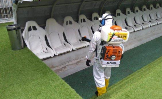 [CBF mantém proibição a torcidas nos estádios em jogos da Série A ]