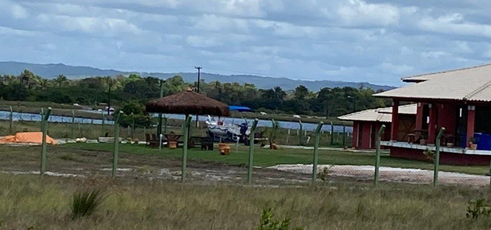 [Operação desativa 'gatos' de energia em fazenda e maricultura no interior da Bahia]
