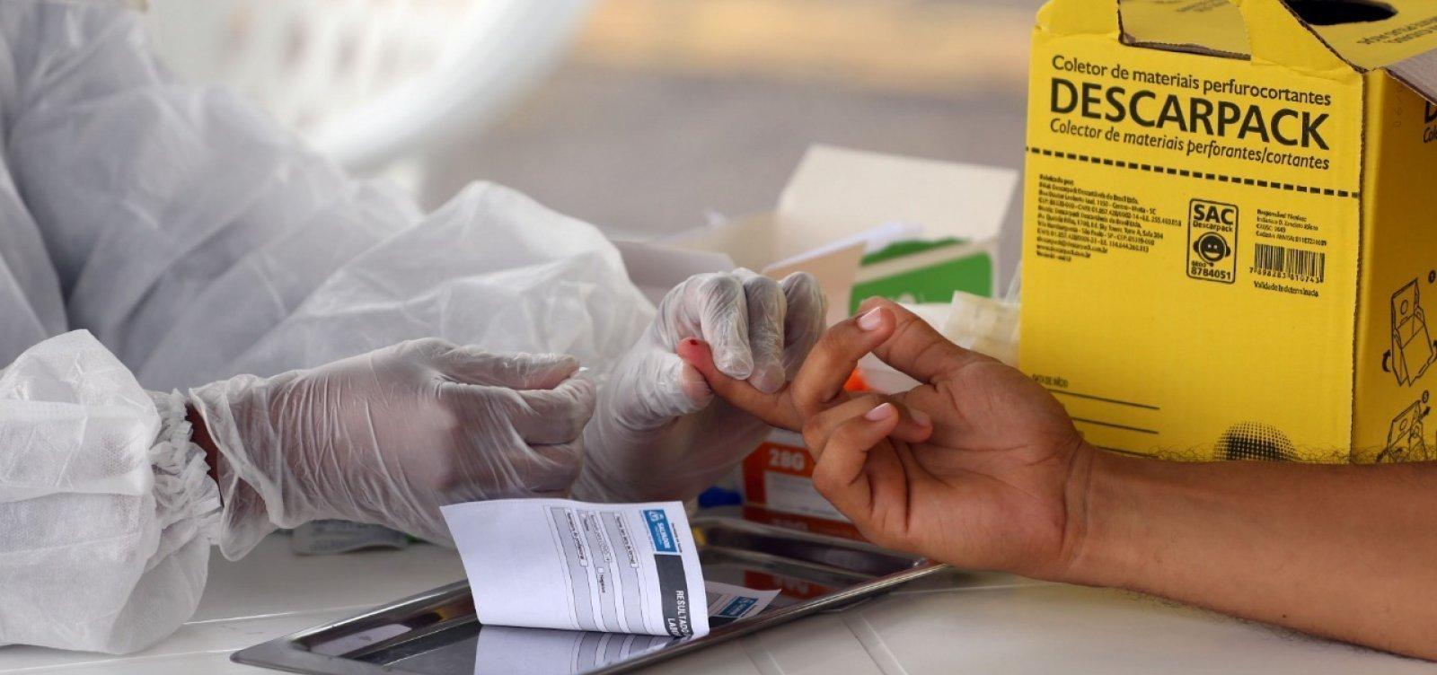 [Salvador registra 89 novos casos de Covid-19 e 11 mortes pela doença em 24h]